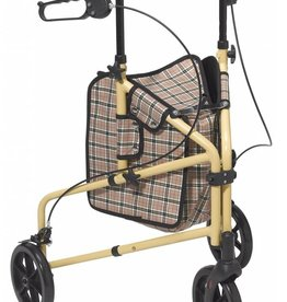 Drive Medical Drive Winnie Lite Supreme/Go Lite 3 Wheel Aluminum Rollator