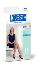 Jobst Jobst UltraSheer Thigh High W/Silicone Top Band 8-15 mmHg Black Small
