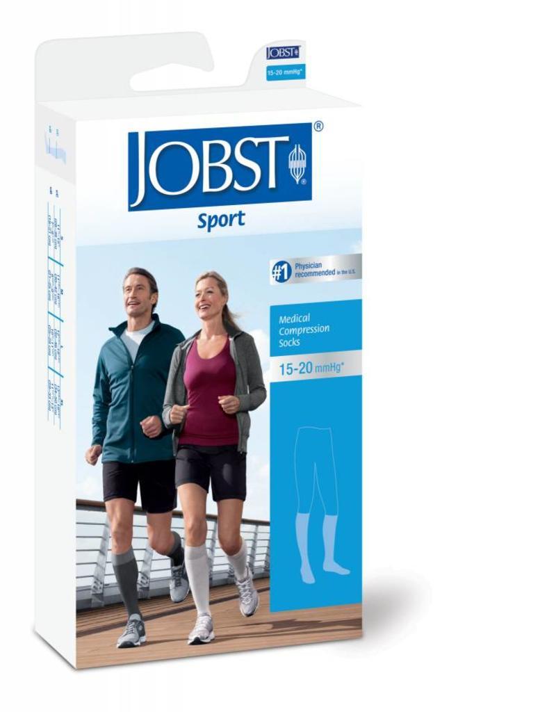 Jobst Jobst Sport 15-20 mmHg Medium Knee Cool Black