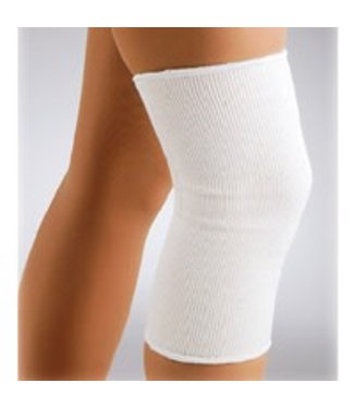 FLA FLA Knee Support Elastic Pullover Small White