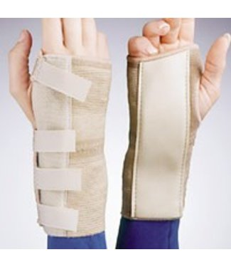 Jobst FLA Cock Up Elastic Wrist Brace Small Left