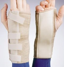 Jobst FLA Cock Up Elastic Wrist Brace Medium Left