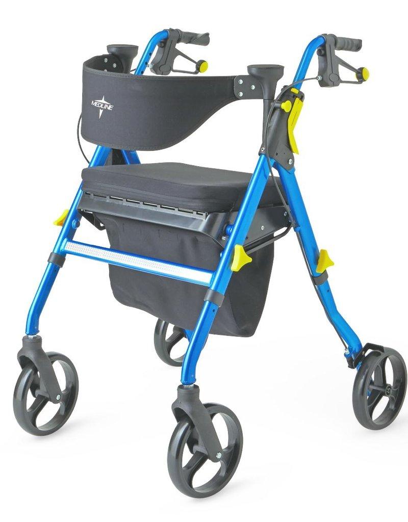Medline Medline Empower Rollator Blue