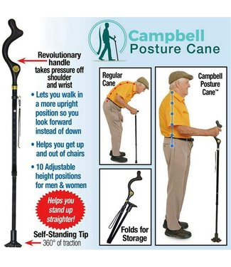 The Campbell Cane The Campbell Cane Walking Stick
