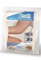 Contour Products Contour Products Contour Leg Pillow Memory Foam ECRU