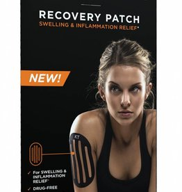 KT Tape KT Tape Recovery Patch 4 Precut Patches Black