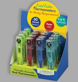 Veridian Healthcare Veridian Healthcare Cool Colors Digital Thermometer