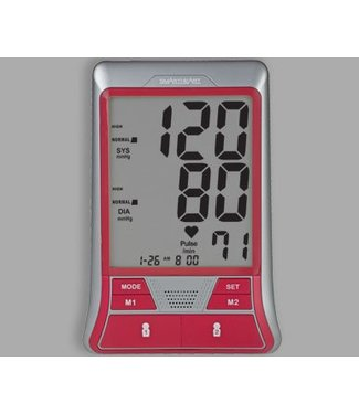 Veridian Healthcare Veridian Healthcare Premium Display with Easy Cuff Blood Pressure Arm Monitor