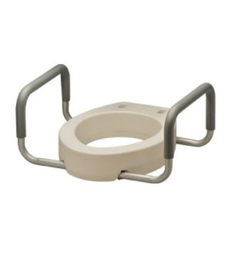 Nova Nova Toilet Seat Riser, Elongated with Ams