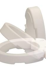 Nova Nova Toilet Seat Riser, Elongated, Hinged