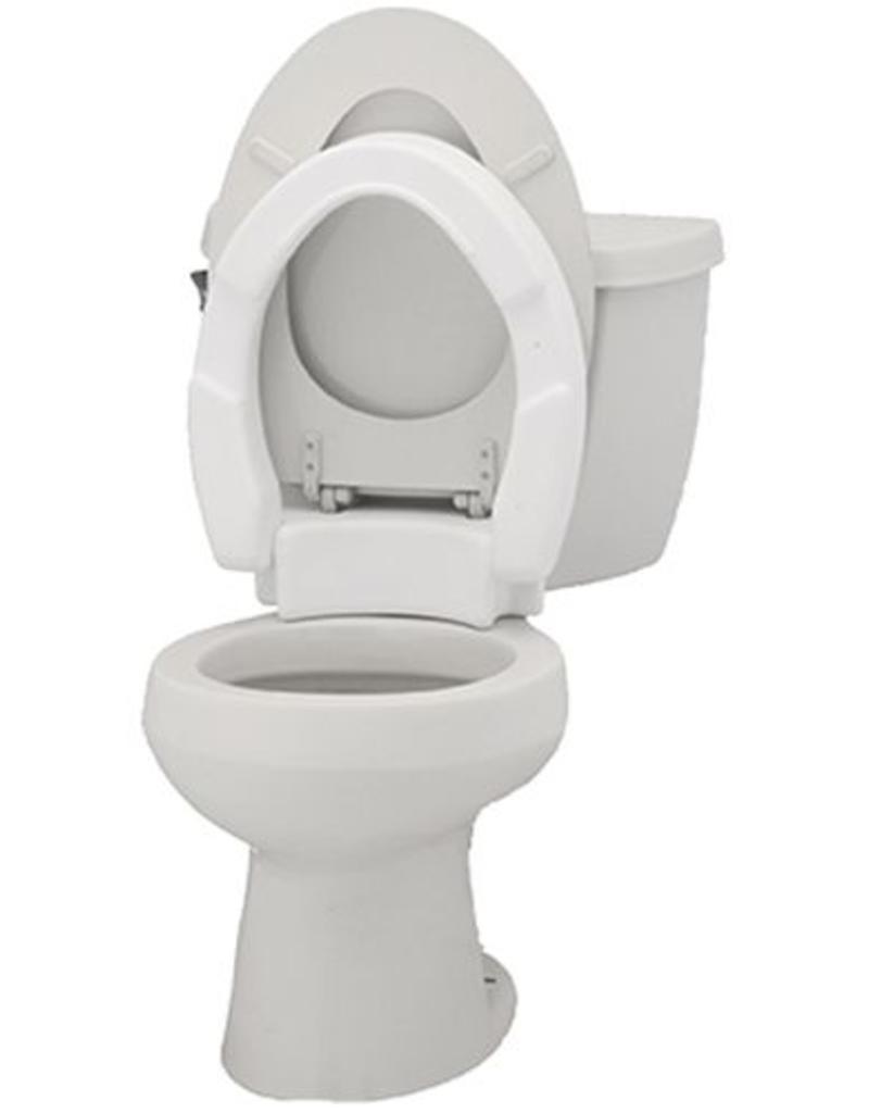 Nova Nova Toilet Seat Riser, Standard, Hinged