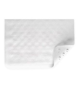 Nova Nova Bath Mat, White, Anti-Mildew, 16x28