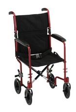"""Nova Nova Aluminum Transport Chair 17"""""""