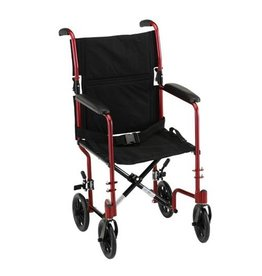 Nova Nova Aluminum Transport Chair 17""