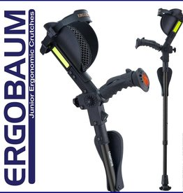 Ergoactives Ergoactive Ergobaum Kids Crutches (Pair)