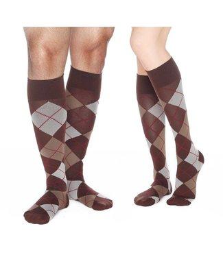 Dr. Comfort Dr. Comfort Argyle Knee High Compression