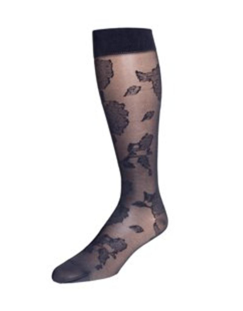 Dr. Comfort Dr. Comfort Sheer Floral Knee High Compression 15-20 mmHg