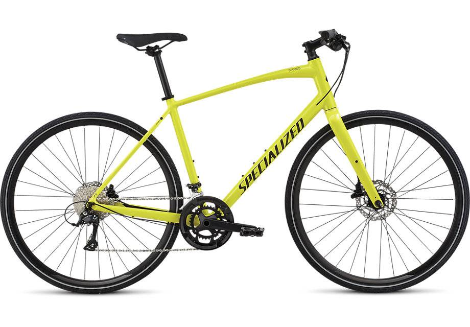 Specialized 2018 Specialized Mens Sirrus Sport Limon/Black Medium