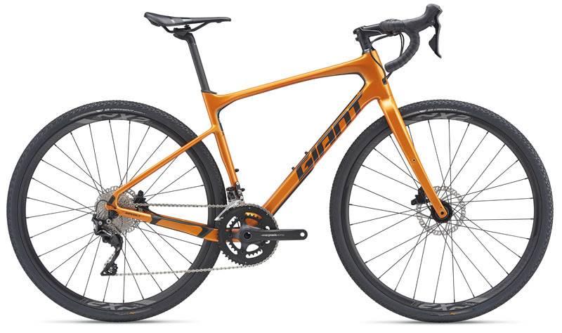 Giant Revolt Advanced 2 Medium/Large Metallic Orange/Gunmetal Black