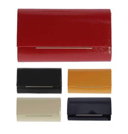 Gabee Products Sonia Patent Clutch Black