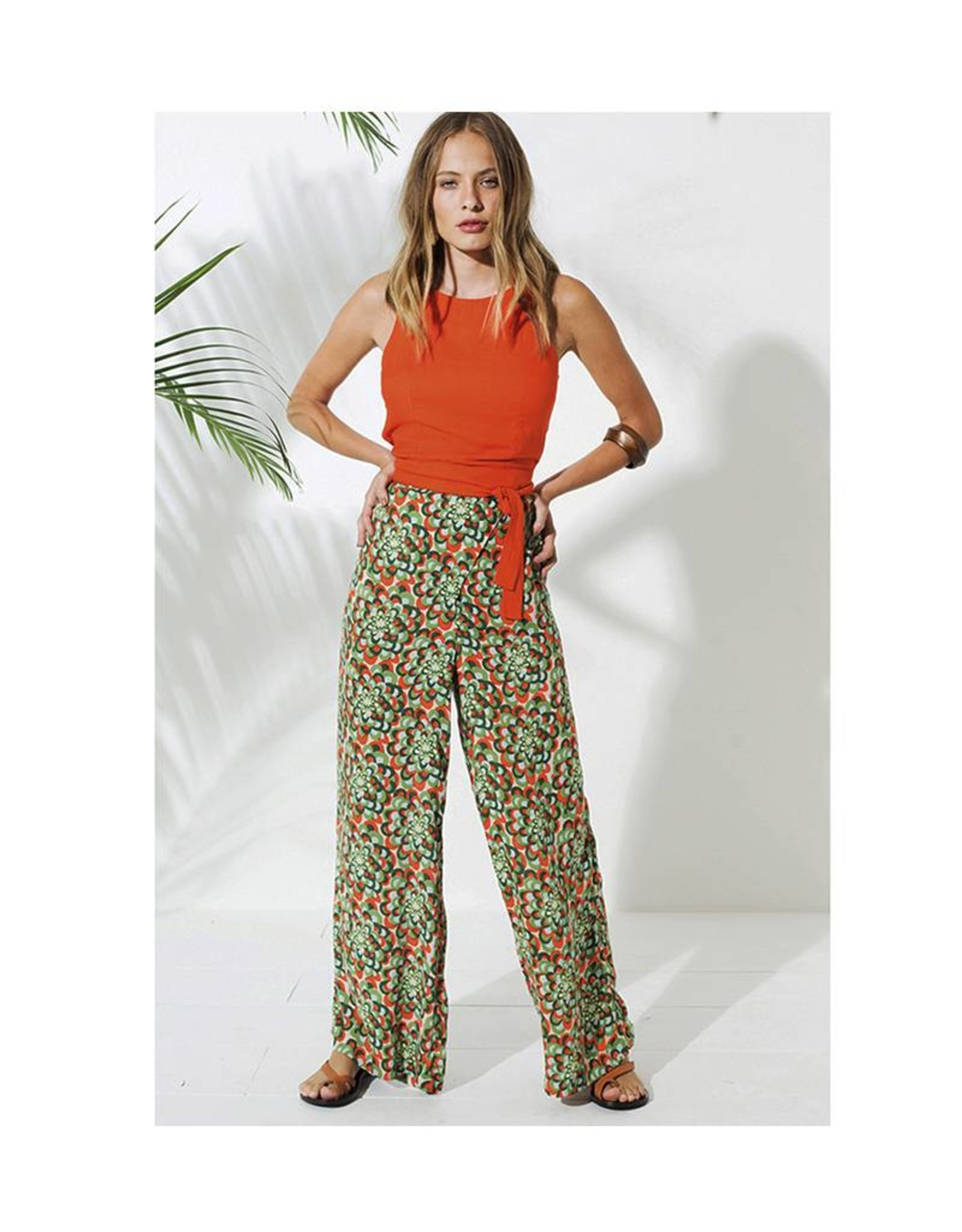 Totem Morina Pants in Jardin Green