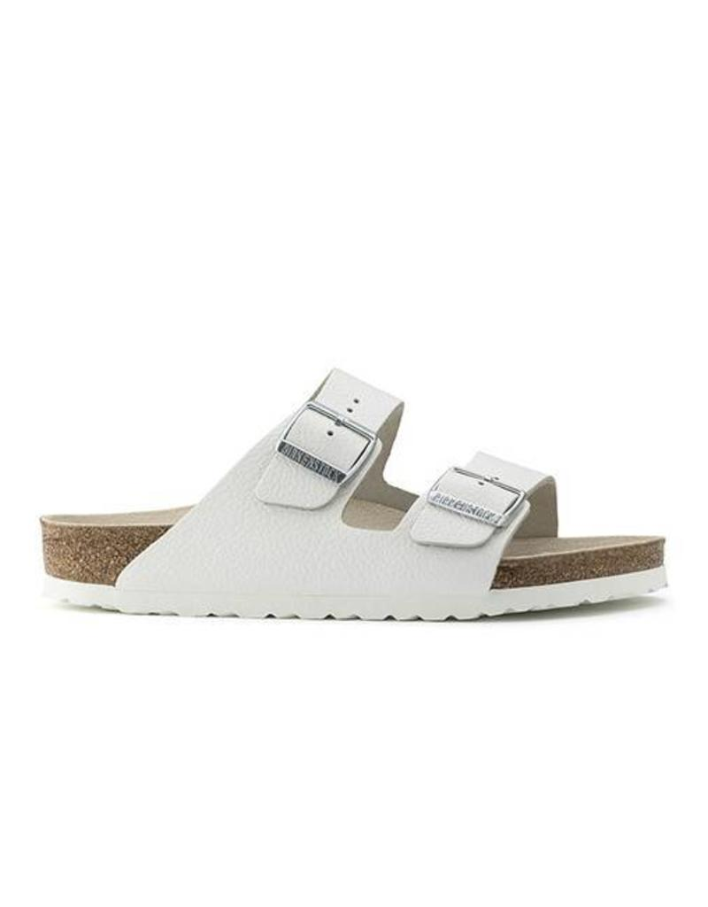 0835b98ccc1 ... Birkenstock - Arizona - Smooth Leather in White (Classic Footbed) ...
