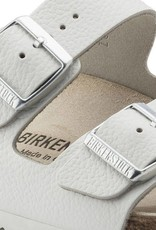 Birkenstock Arizona - Smooth Leather in White - Narrow Width  (Classic Footbed)