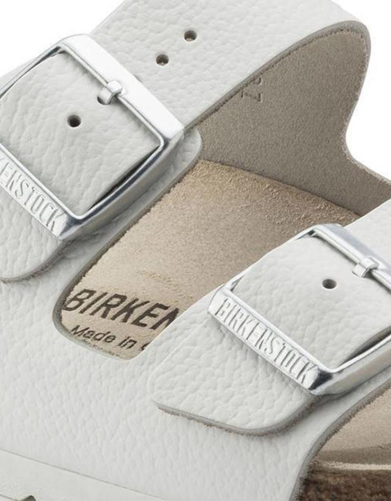 b4e5f4aa118 ... Birkenstock - Arizona - Smooth Leather in White (Classic Footbed)
