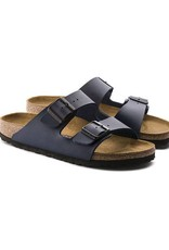Birkenstock Arizona - Smooth Leather in Blue