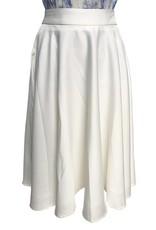 Elliatt Liquid Skirt - White