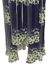 Elliatt Perspective Maxi Skirt - Ink/Apple