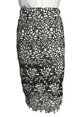 Elliatt Ivory Coast Sheath Skirt - Monochrome