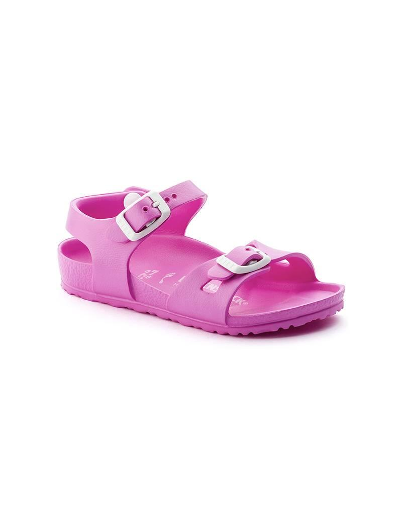 1a7490022f42a2 Waterproof Birkenstock Rio Kids in Neon Pink Sandals - Fe s Fashion ...