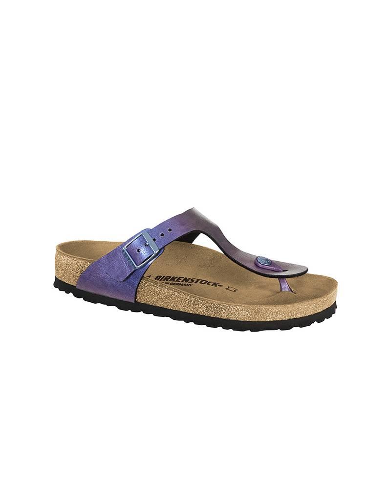 58243f44115a Birkenstock Gizeh Birko-Flor in Graceful Gemm Violet Sandals - Fe s Fashion  and Decor