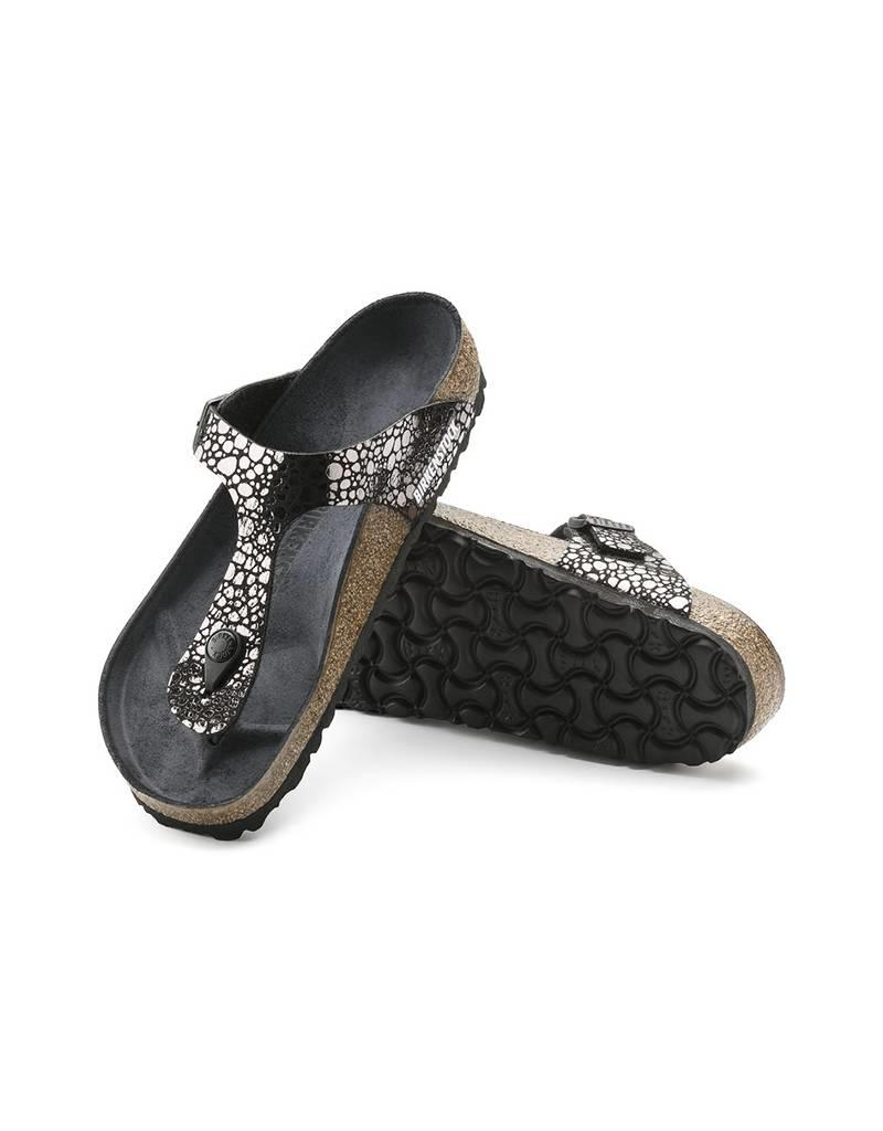 661d63375e3f Gizeh - Birko-Flor Patent in Metallic Stones Black (Classic Footbed - Suede  Lined ...