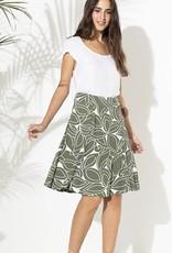 Totem Franny Skirt in Botanic Green