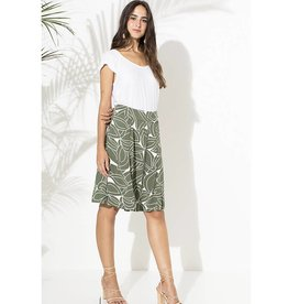 Totem Totem - Franny Skirt in Botanic Green