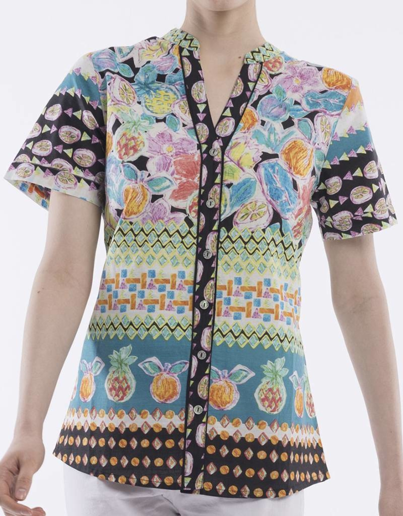 Orientique La Boqueria Blouse SS