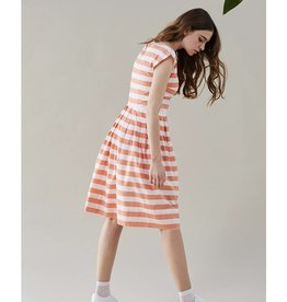 Emily & Fin Nancy Dress in Peachy Keen Stripe