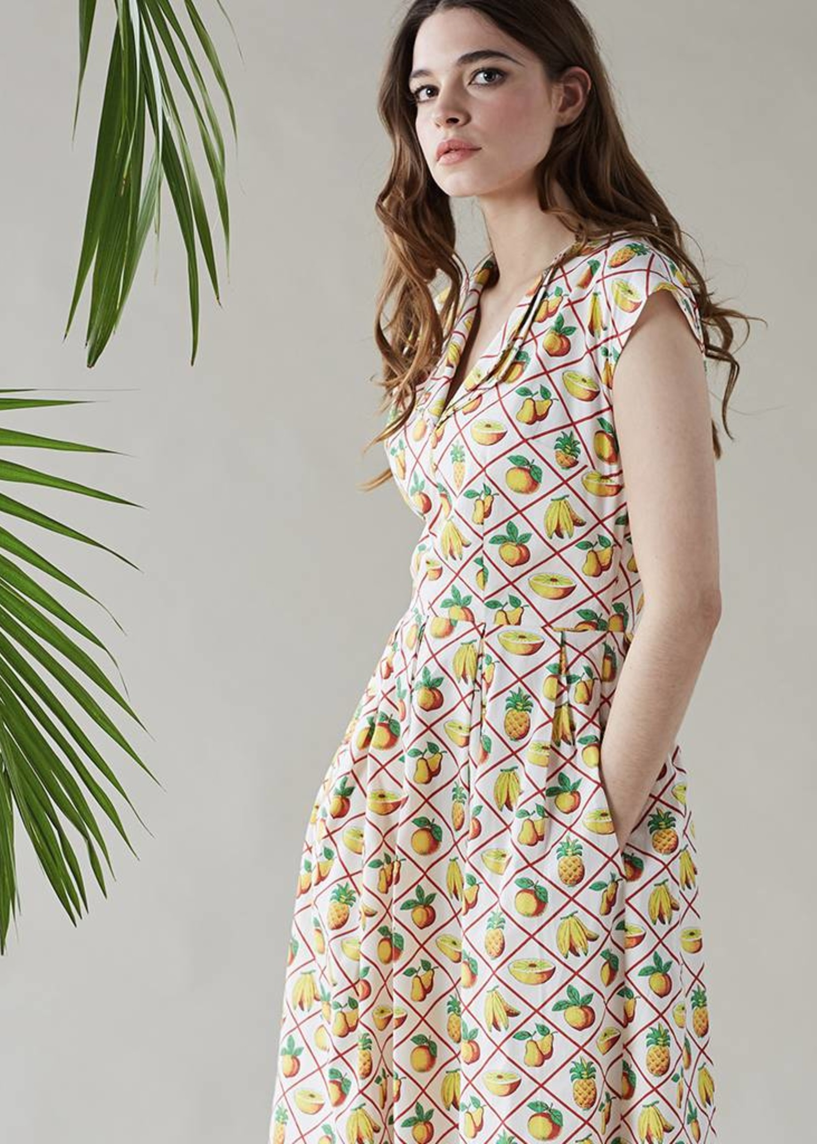 Emily & Fin Annie Dress in Fruit Salad
