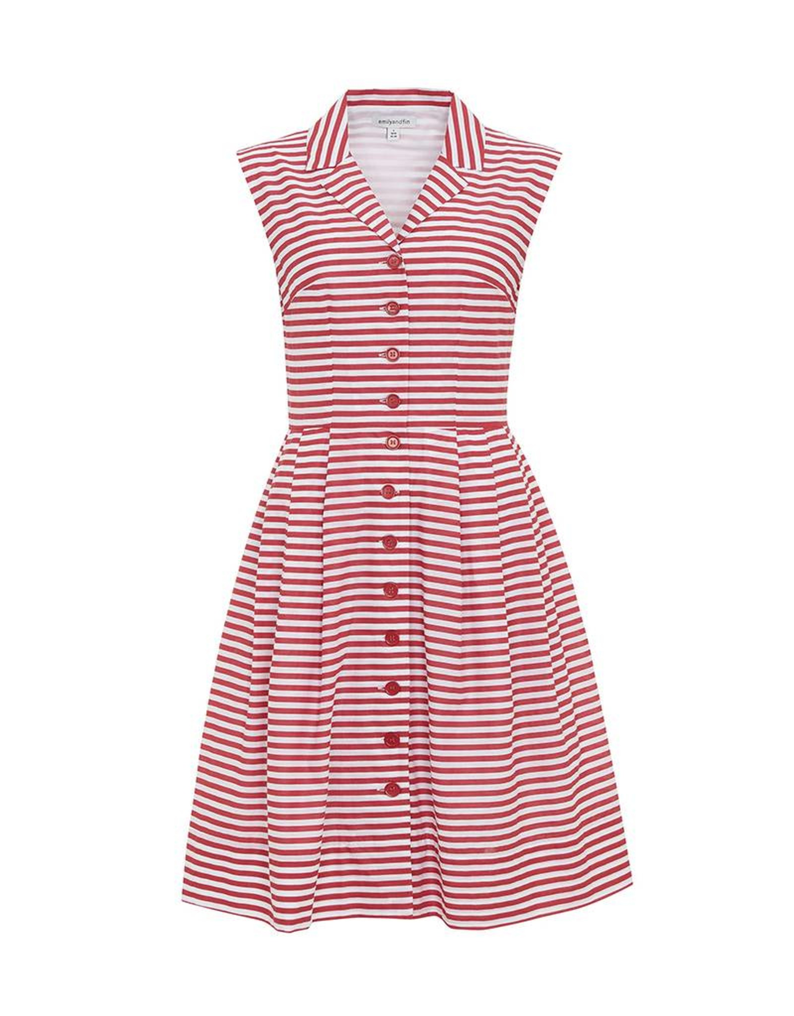 Emily & Fin Frankie Dress in Red and White