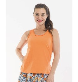 Orientique Essentials Fray Cami in Mango