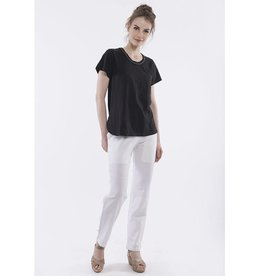 Orientique Linen Pants in White