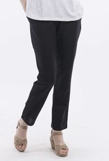 Orientique Linen Pants in Black