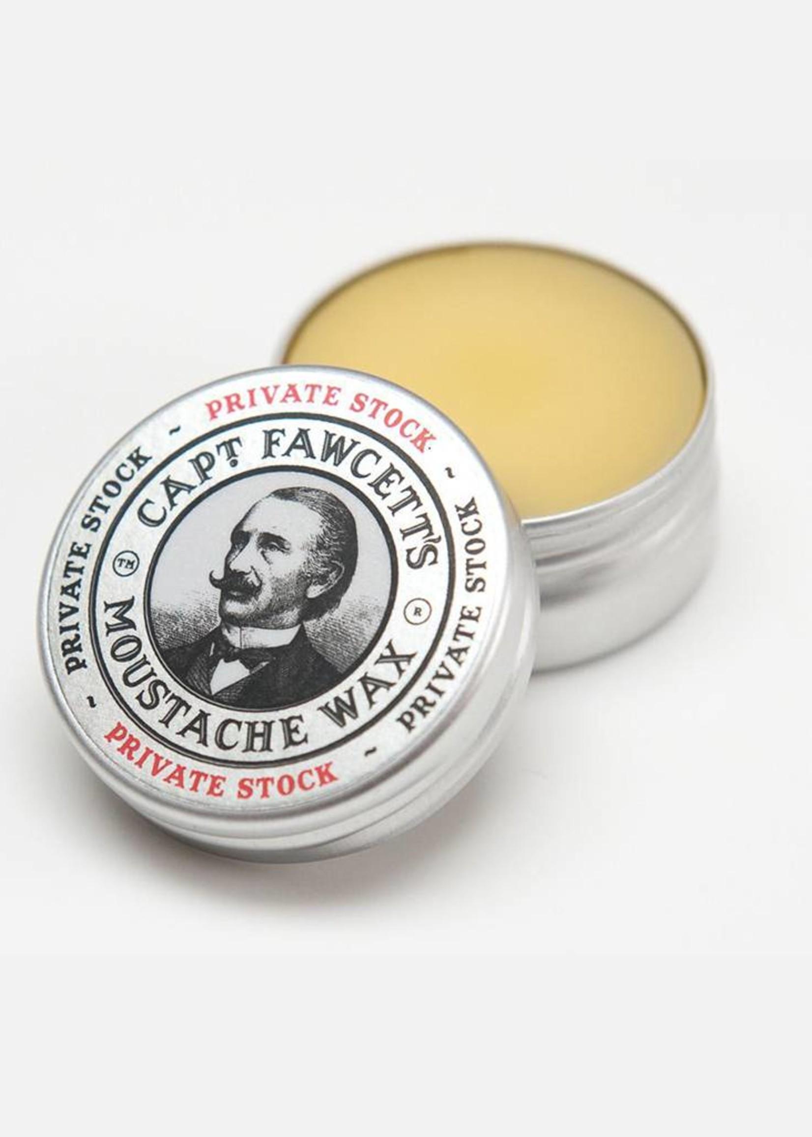 Captain Fawcett's Private Stock Moustache Wax 15ml