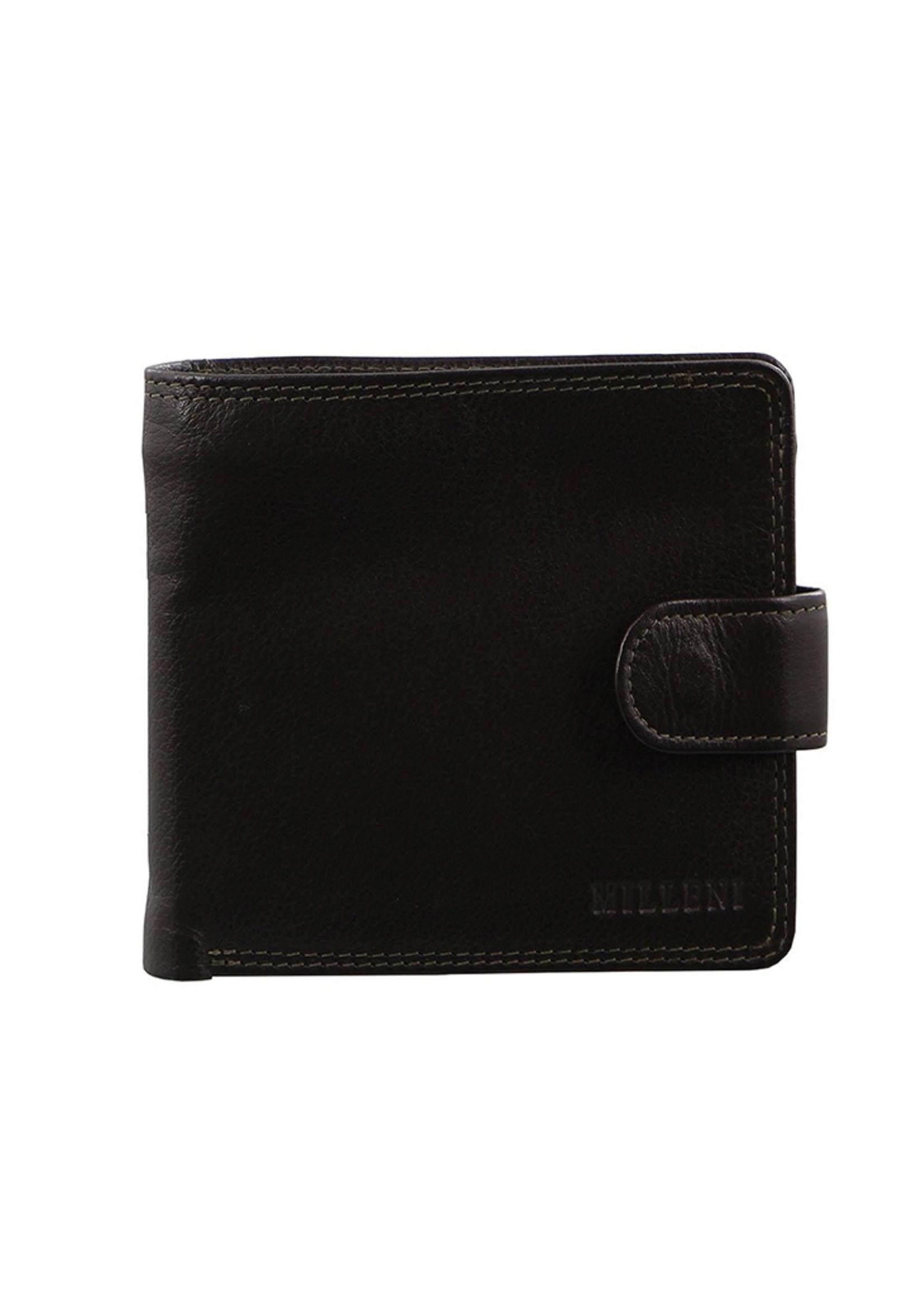 Milleni Men's Wallet - Brown (C10542)