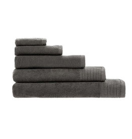 Linen House Bath Towel RIBA Charcoal