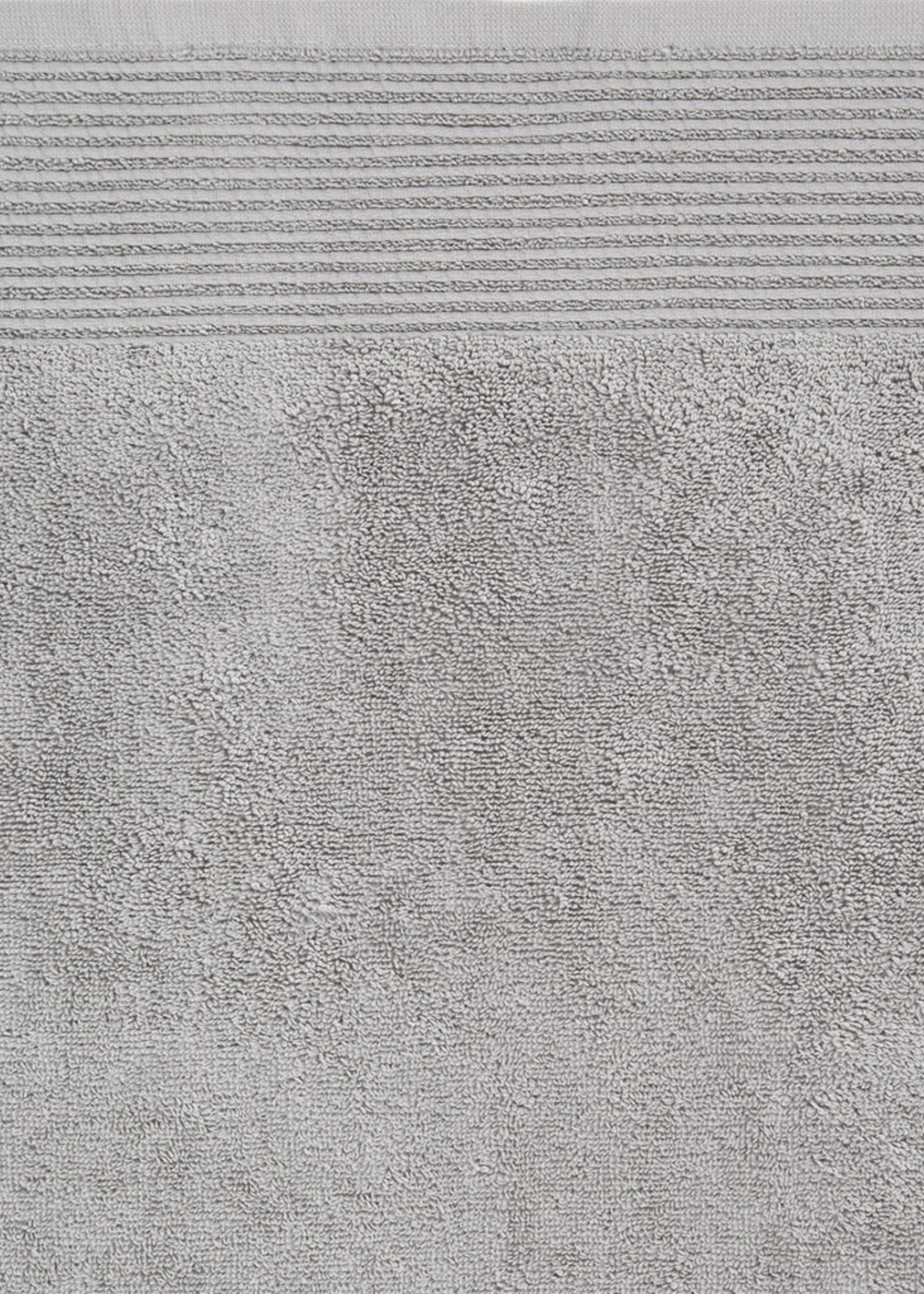 Linen House Linen House Bath Towel Riba - Silver