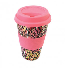 Utopia Bamboo Eco Coffee Cup 136 - Sacha Long Petyarre
