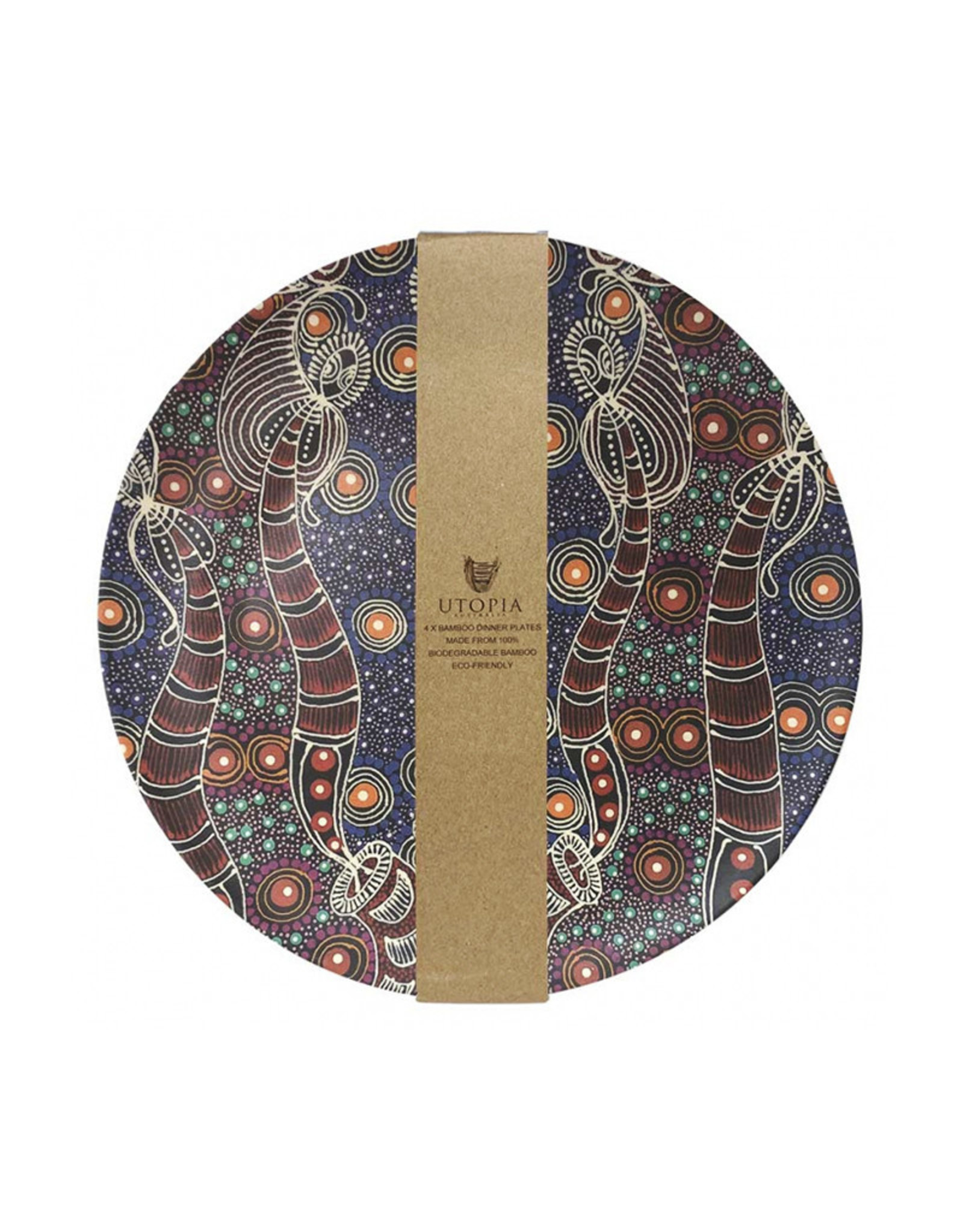 Utopia Bamboo Plate Set - Colleen Wallace